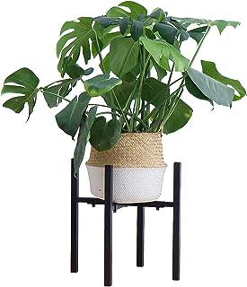"""ORZ Adjustable Plant Stand for Indoor Plants Black Metal Planter Stand Indoor Outdoor Pot Stand (fit pots Between 10"""" to 1..."""