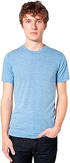 American Apparel Men Tri-Blend Crewneck Track T-Shirt