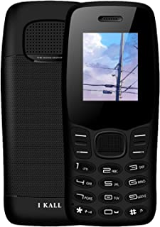 I KALL K43 Premium Keypad Mobile Without Camera (1.8 Inch, Dual Sim, Loud Speaker) (Blue)