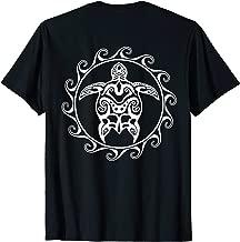 Tribal Polynesian Maori Sun Sea Turtle Island T-shirt
