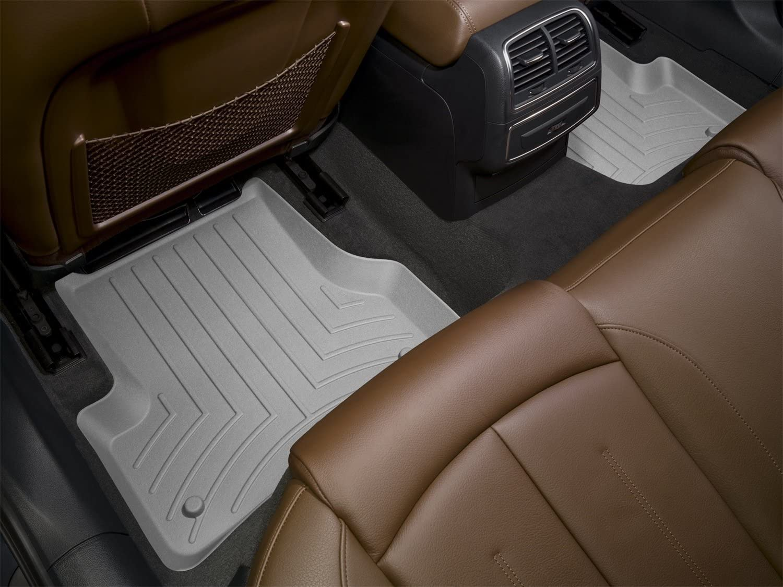 WeatherTech Custom Fit Rear FloorLiner for Pontiac G8 Black