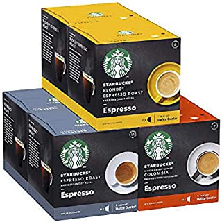 Starbucks By Nescafé Dolce Gusto Variety Pack Koffiecapsules Espresso, 6 x 12 Capsules