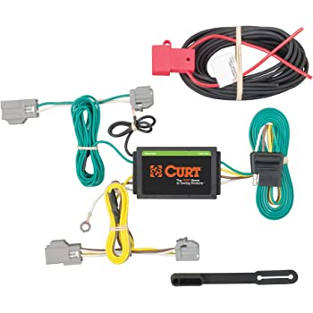 Curt Manufacturing 56406 Custom Vehicle Trailer Wiring Harness for Towing