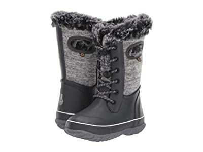 Bogs Kids Arcata Knit (Toddler/Little Kid/Big Kid) (Gray Multi) Girls Shoes