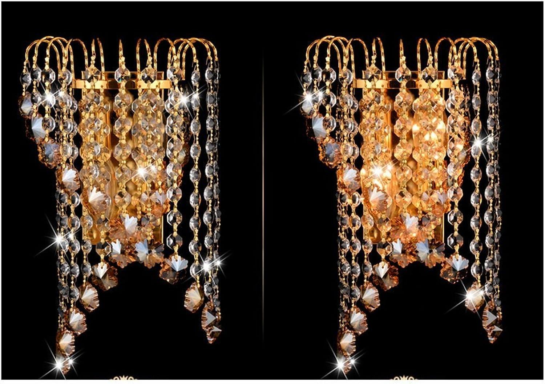 GYR Wall Lamp European Crystal Wall Lamp Modern Minimalist LED LED LED Living Room Bedroom Study Creative Personality Warm Bedside Lamp Wall Lamp,A B078KK39HW | Qualitativ Hochwertiges Produkt  d938d8