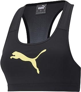 Puma Women's Mid Impact 4Keeps Bra Sports Black, XS