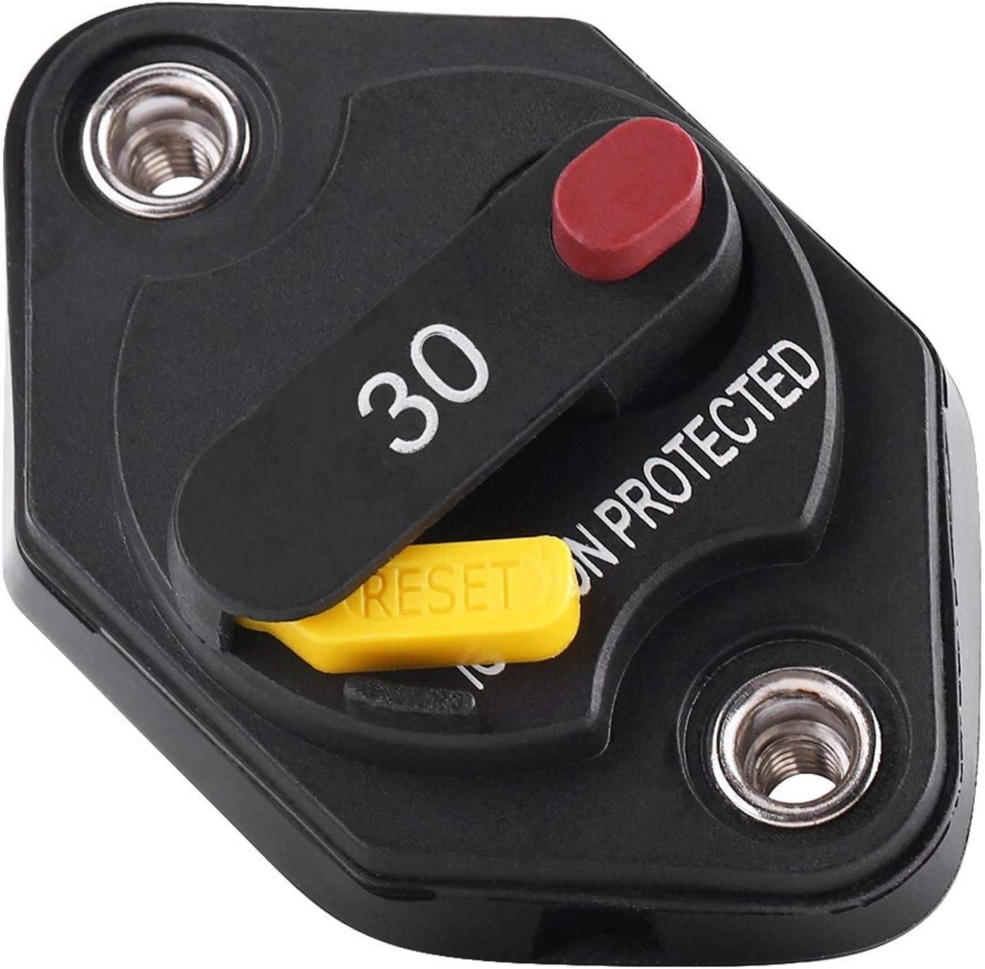 ZXC 1 Piece 30 Amp Waterproof Max 70% OFF Circuit Switc Manual Breaker Reset store