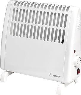 Bestron ABH401 Calefactor, Independiente Prueba de Salpicaduras, Termostato, Incluye Set de Montaje en Pared, Blanco