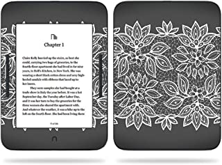 MightySkins Skin Compatible with Barnes & Noble Nook GlowLight 3 (2017) - Floral Lace | Protective, Durable, and Unique Vinyl Decal wrap Cover | Easy to Apply, Remove | Made in The USA