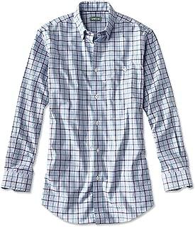 Hidden-Button-Down Wrinkle-Free Cotton Twill Shirt/Regular