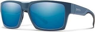 نظارة شمسية بتصميم مستطيل للجنسين من سميث - عدسة زرقاء، قياس واحد