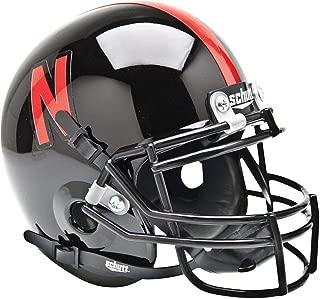 Nebraska Cornhuskers Schutt Black Mini Football Helmet - College Mini Helmets