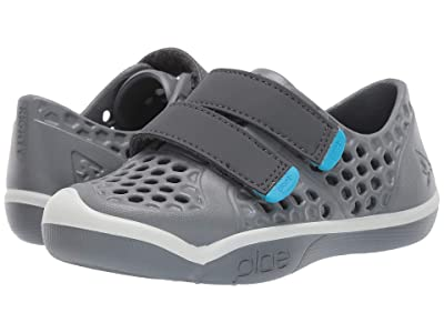 PLAE Mimo (Toddler/Little Kid) (Slate) Boys Shoes