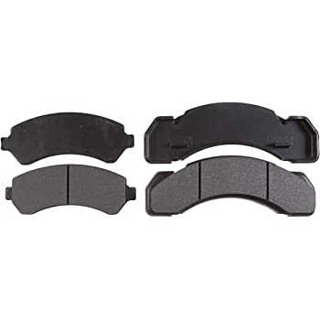 Disc Brake Pad Set-Specialty Medium Duty; Metallic Front,Rear Raybestos