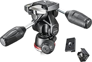Best Manfrotto MH804-3W 3 Way head with Two Replacement Quick Release Plates for the RC2 Rapid Connect Adapter Review