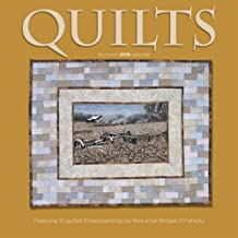 Quilts 2018 12 x 12 Inch Monthly Square Wall Calendar by Wyman, Quilting Textile Design