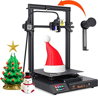MINGDA Rock 3 FDM 3D Printer DIY Kit with TMC2208 Silent Printing, Direct Drive Extruder, Dual Leadscrew Z Axis, Filament ...