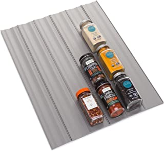 YouCopia SpiceLiner Spice Drawer Liner, 10ft Roll, Gray