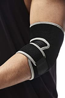 Exrebon Elbow Brace Spandex High Elastic Adjustable Elbow Support for Joint Arthritis Pain Relief, Tendonitis, Sports Injury Recovery for Men & Women
