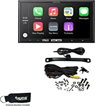 Alpine iLX-107 7 Inch Mech-Less Receiver Compatible with Wireless Apple CarPlay & Backup Camera