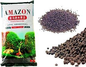 Despacito Amazon Aquarium Black Soil, Aqua Soil for Fish Tank and Ponds, Substrate Plant Soil for Aquarium,Aquarium Soil f...