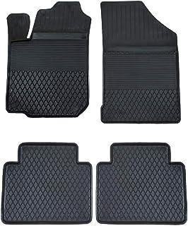 KO XGUM Gummimatten Fußmatten mit hohem 2.5 cm Rand geeignet zur Toyota URBAN Cruiser (ab 2008) ideal angepasst 4  Teile EIN Set
