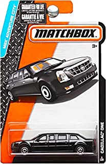 Matchbox 2015 MBX Adventure City 5/120: The Beast Cadillac One Limo Presidential Limousine