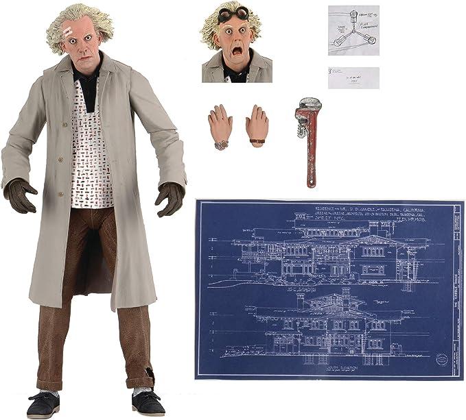 Doc Brown Action Figure