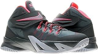 65117518accf Nike Zoom Lebron Soliders VIII (GS) Boys Basketball Shoes