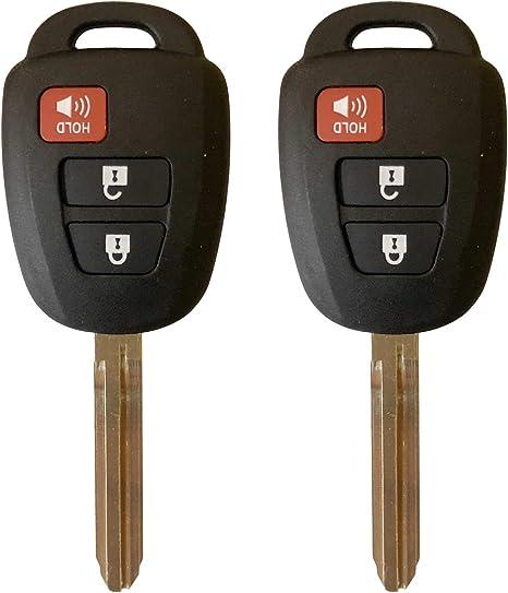 HYQ12BDM, 1551A-12BDM, 89070-52F60 Car Key Fob Keyless Entry Remote fits Toyota 2012 2013 2014 2015 2016 Prius