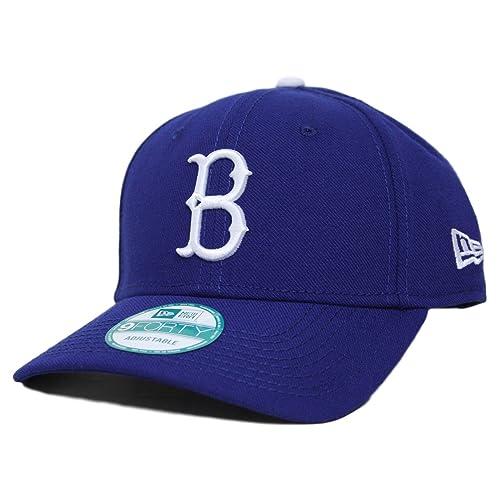 3f4cfad94d2138 New Era Brooklyn Dodgers MLB 9Forty Cooperstown Classic Custom Adjustable  Hat