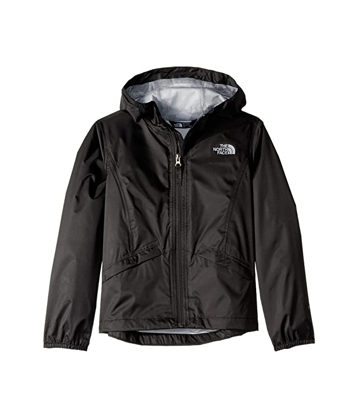 The North Face Kids Zipline Rain Jacket (Little Kids/Big Kids) (TNF Black) Girl's Coat