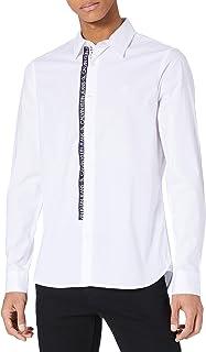 Calvin Klein Logo Tape Shirt Camicia Uomo