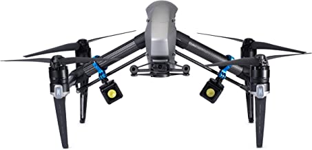 Lume Cube - Lighting Kit for DJI Inspire 1 & 2 (Includes 2 Lume Cubes + 2 Mounts + Zipper Case)