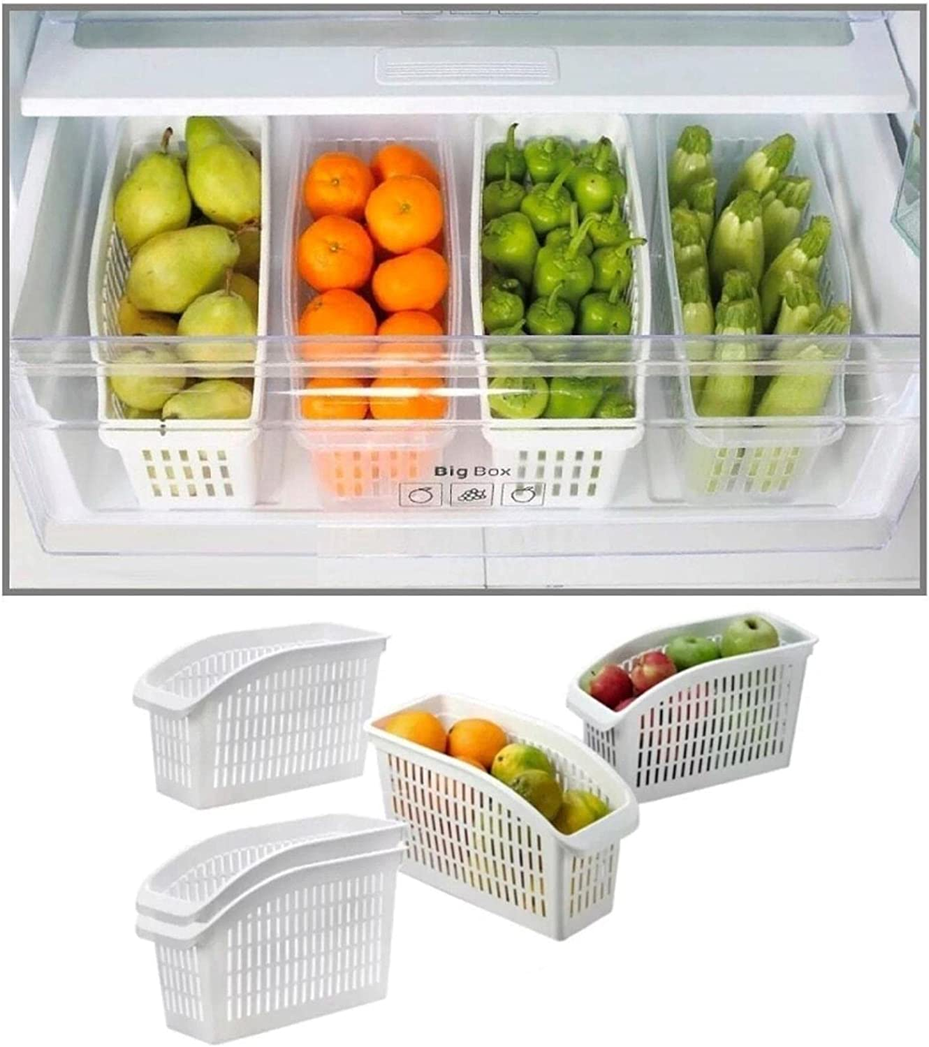 RRLL Kitchen Organizer Drawer Basket Quantity limited Fresh Manufacturer direct delivery Container Lay Spacer