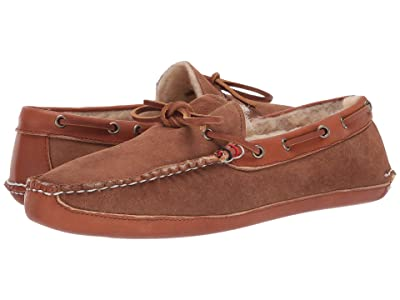 Sperry Gold Cup Handcrafted in Maine Slipper (Dark Brown) Men