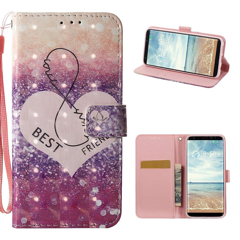 扱うクライマックス散髪Galaxy s8?Plusケース、SAMSUNG GALAXY s8?Plusカバー、ピンクリボン運動Bling Glitter TPUバンパーバックケースソフトシリコンカバーストライプパターン保護スキンカバーfor Samsung Galaxy s8?Plus ( 6.2インチ) KUN2017023256-UK