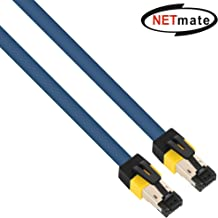 NETmate NM-U8005 CAT.8 40Gbps 2000Mhz High Speed Gigabit SSTP LAN Network Ethernet Cables 24AWG (1.6ft)