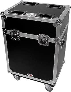 Flight Case w/Wheels For (2) Chauvet Q-Spot 260 LED Moving Head Lights