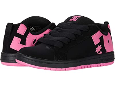 DC Kids Court Graffik (Little Kid/Big Kid) Girls Shoes