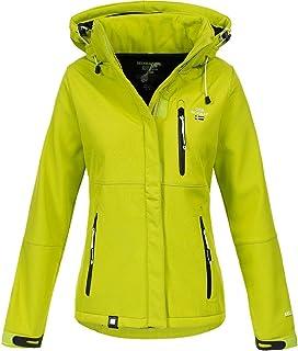 Geographical Norway Touna B - Chaqueta de tejido softshell con capucha para mujer