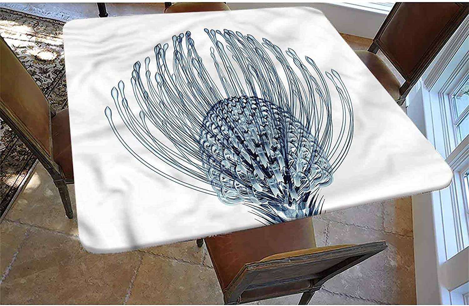 GGACEN Super popular specialty store Decorative Long Beach Mall Elastic Edged Fitted Square Pincush Tablecloth