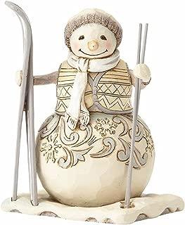 Best jim shore white woodland snowman statue Reviews