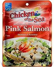 Chicken of the Sea Premium Skinless & Boneless Pink Salmon, 2.5 oz.  (Pack of 12)