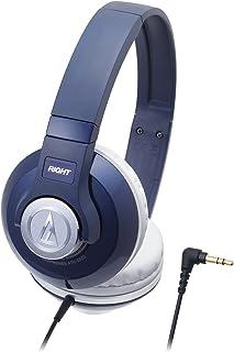 audio-technica STREET MONITORING 密閉型オンイヤーヘッドホン ポータブル ネイビー ATH-S500 NV