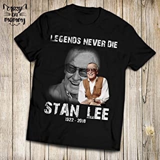 Stan Legends Never Die Lee 1922 2018 Remember Memorial Customized Handmade T-Shirt Hoodie/Long Sleeve/Tank Top/Sweatshirt