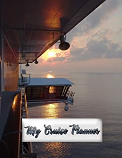 My Cruise Planner: Up to 21 Days Diary Included, with Comprehensive Planning Sheets