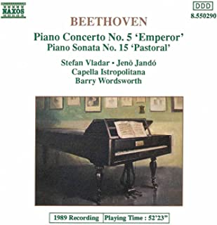 Beethoven: Piano Concerto No. 5 / Piano Sonata No. 15
