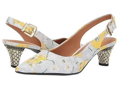 J. Renee Mayetta (Yellow/White Multi) High Heels