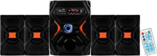 Classic Gold HT IM-104 Bahubali Multimedia Home Audio Sound System with Bluetooth FM,USB and Aux Connectivity (Black, 4.1 Channel) & Also Includes A (Card Reader)